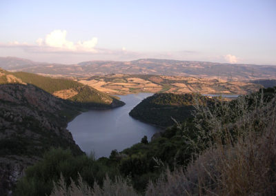 Panorama Lago Coghinas