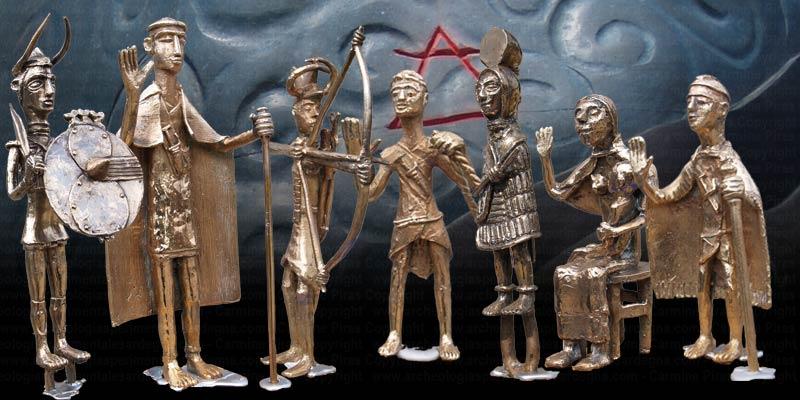 Il nuragico nelle sculture di Carmine Piras