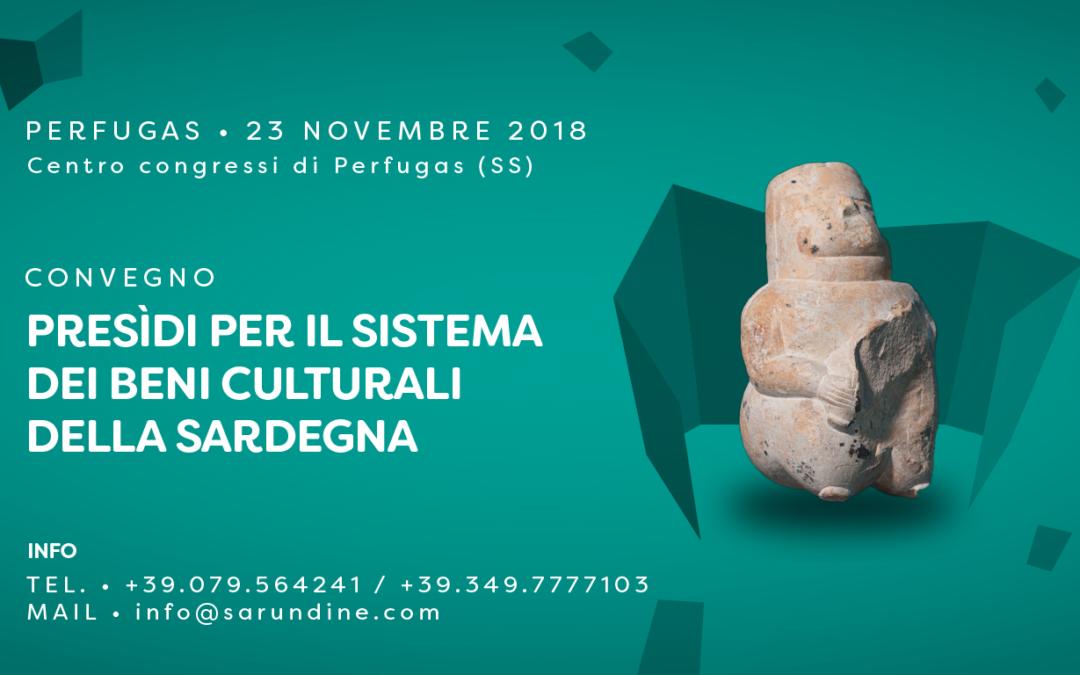 Convegno sui presìdi per il sistema dei beni culturali della Sardegna