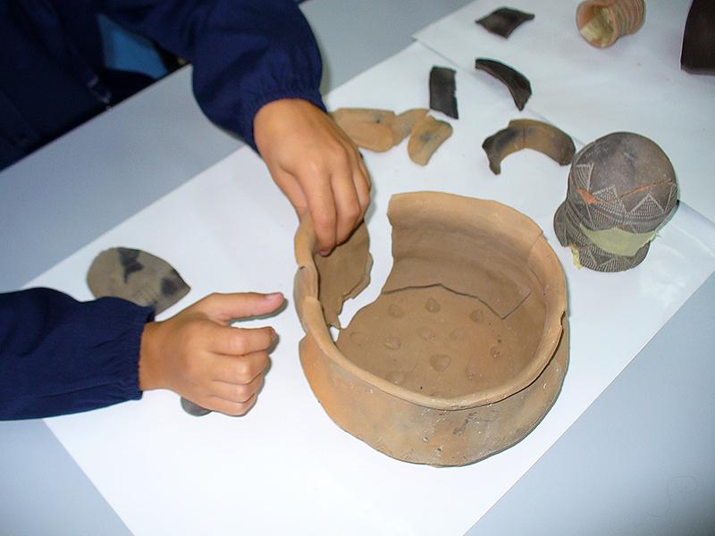 Didattica - Il restauro: dallo scavo al Museo