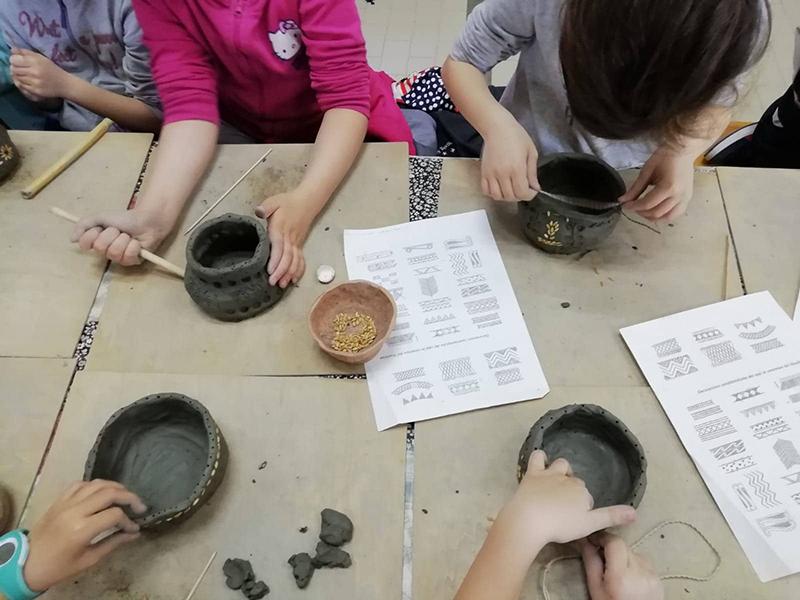 Didattica - La manipolazione dell'argilla